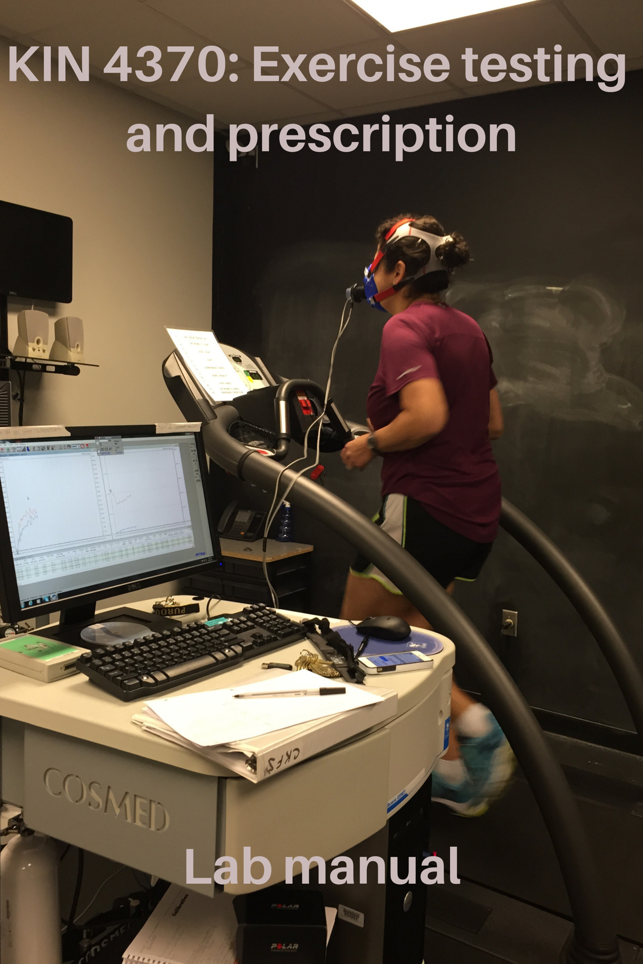 Cover image for KIN 4370: Virtual Exercise Testing and Prescription Lab Manual